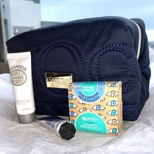 L'Occitane Travel Set w/Quilted Bag